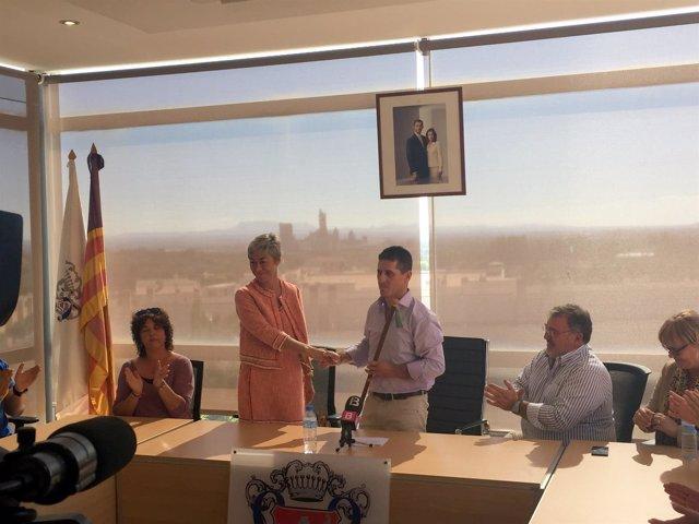 Chema Muñoz, nuevo alcalde de Lloseta