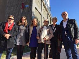 El Ayuntamiento de Barakaldo inaugura la calle 'Carlos Ibáñez López' en las nuevas viviendas de Lutxana