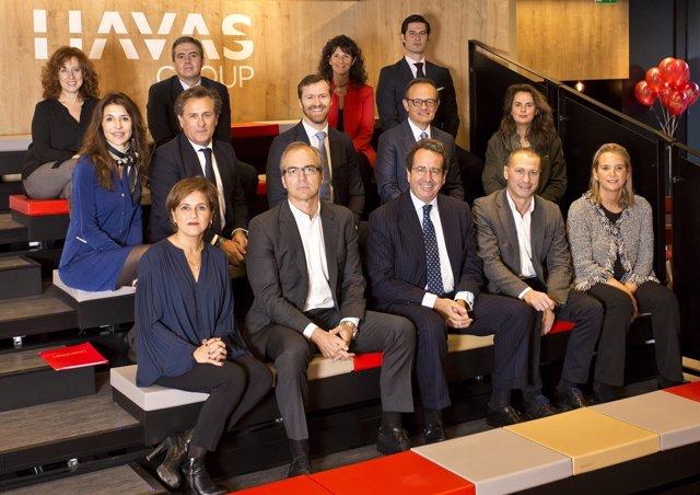 Equipo directivo de Havas Group España