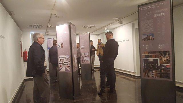 Exposición sobre la residencia colectiva en el Cuarto Espacio de la DPZ
