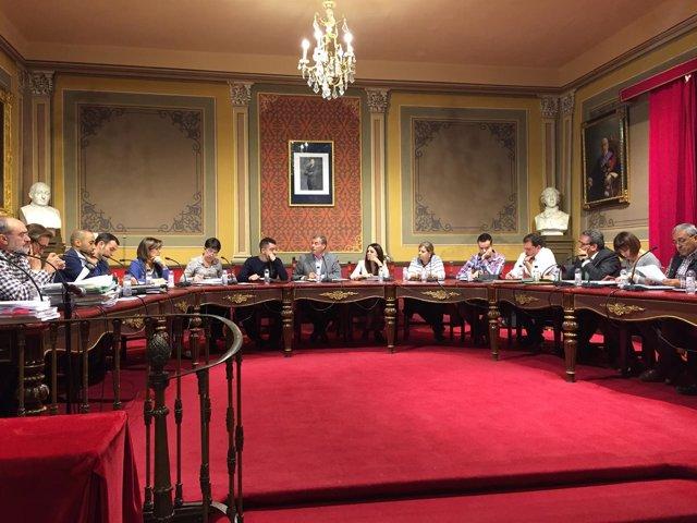 Pleno del Ayuntamiento de Barbastro