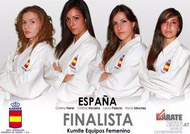 El equipo español de kumite femenino, a la final mundial
