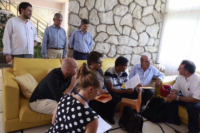 Equipos negociadores del Gobierno y las FARC