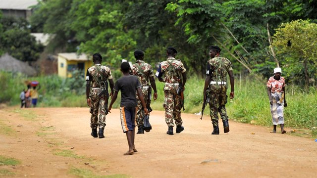 Militares en Mozambique