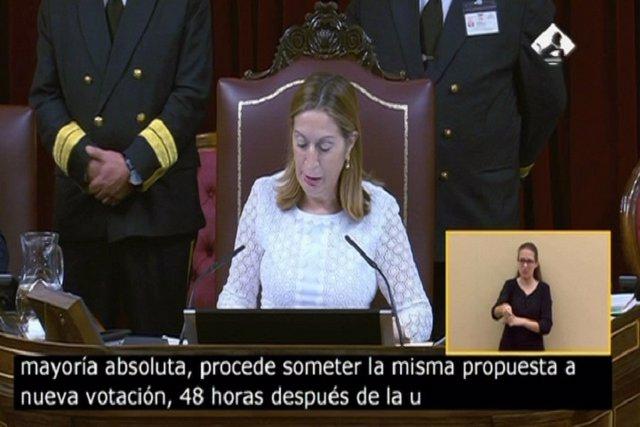 El Congreso rechaza la investidura de Rajoy
