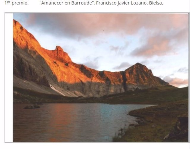 Premios pintura y fotografía del Túnel de Bielsa