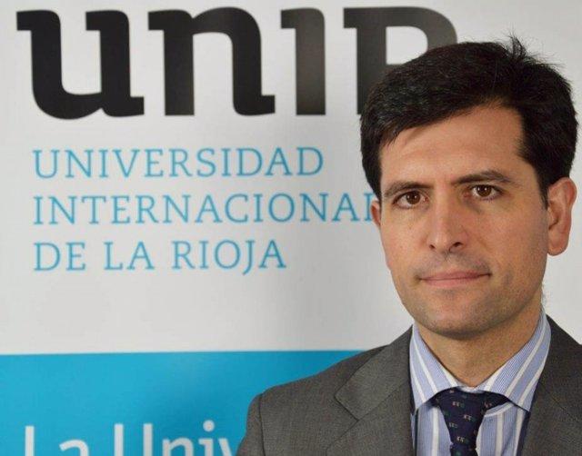 Josu Ahedo, vicerrector de Estudiantes de UNIR