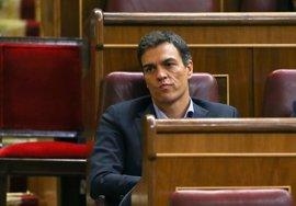 Pedro Sánchez deja su escaño en el Congreso y anuncia su candidatura al próximo Congreso del PSOE