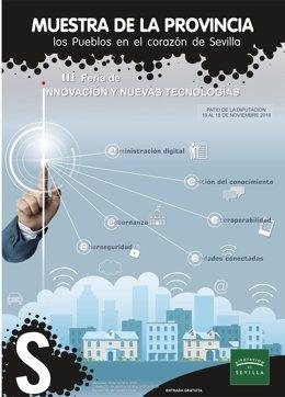 Cartel de la Feria Innovación y Nuevas Tecnologías