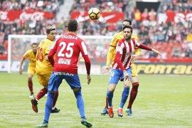 El Sevilla detiene su excelente racha en Gijón