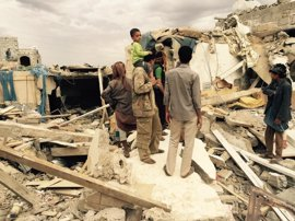 Muertos 17 civiles en un ataque aéreo de la coalición saudí sobre Taíz, Yemen