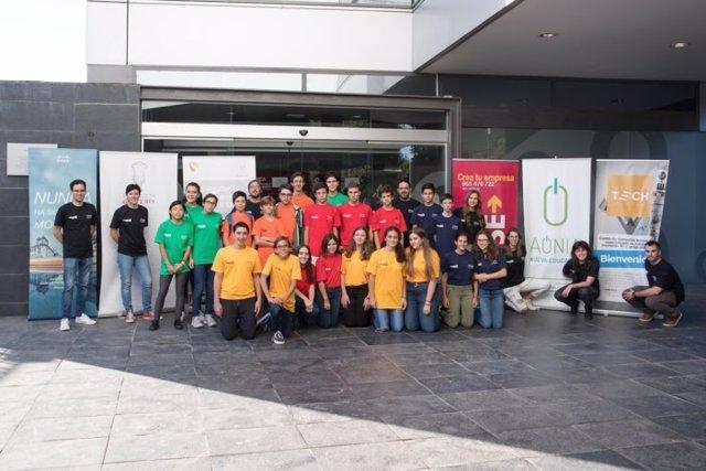 Estudiantes en el Exponential STEaM SingularityU Sevilla