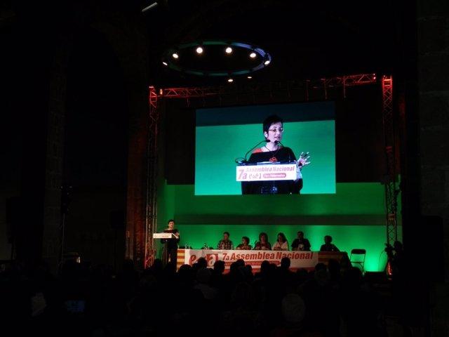 Marta Ribas (ICV) en la VII Asamblea de EUiA
