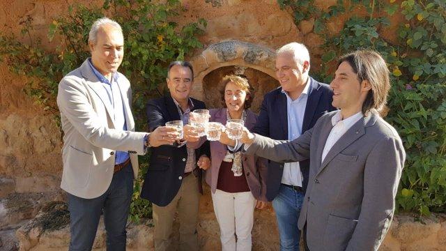 El agua de Pozuel de Ariza vuelve a ser apta para el consumo.