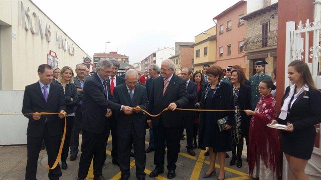 Joaquín Olona ha inaugurado la XXVI edición de la Feria ExpoCaspe.