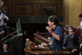 Iglesias dice que Rajoy ha herido de muerte al sistema político con su investidura