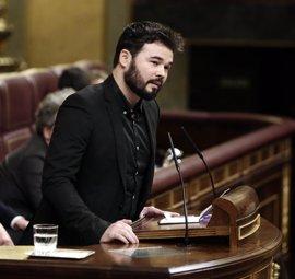 """ERC llama traidor al PSOE por dar el gobierno """"a los que persiguen urnas y esconden Jaguars"""""""