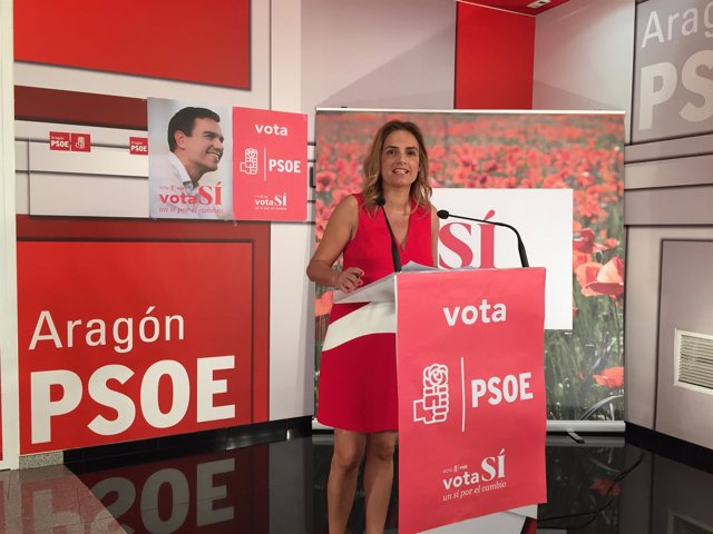 Susana Sumelzo en Zaragoza.