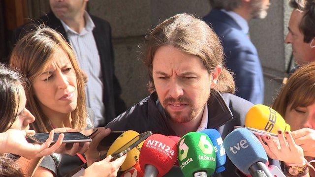 """Iglesias: """"Donde hemos visto delitos es en las instituciones"""""""