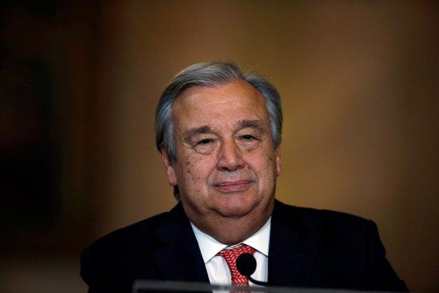 António Guterres, designado nuevo secretario general de la ONU
