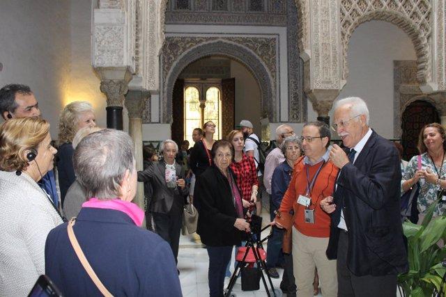 Actividad de acercamiento del Real Alcázar de Sevilla