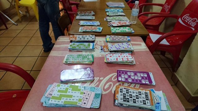 Actuación en un bingo ilegal de Sanlúcar de Barrameda