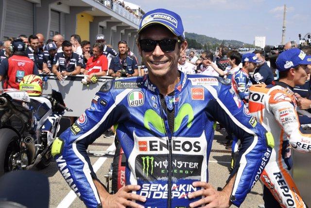 El piloto italiano Valentino Rossi