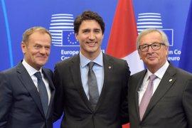La UE y Canadá firman el CETA en Bruselas