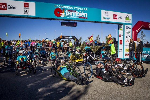 Carrera Popular Madrid También Solidario