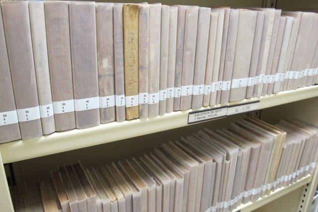 Archivo Rafael Porlán en Centro Cultural Generación del 27