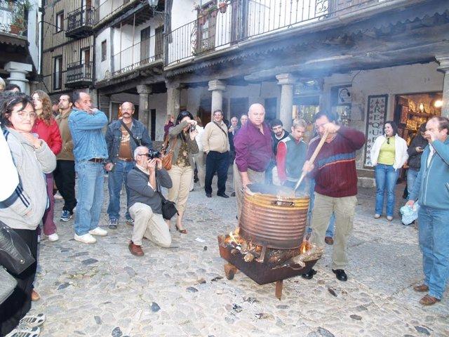 Celebración de Magosto