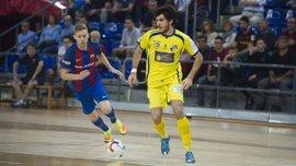 El Barcelona Lassa vence con sufrimiento y Palma Futsal empata 'in extremis'