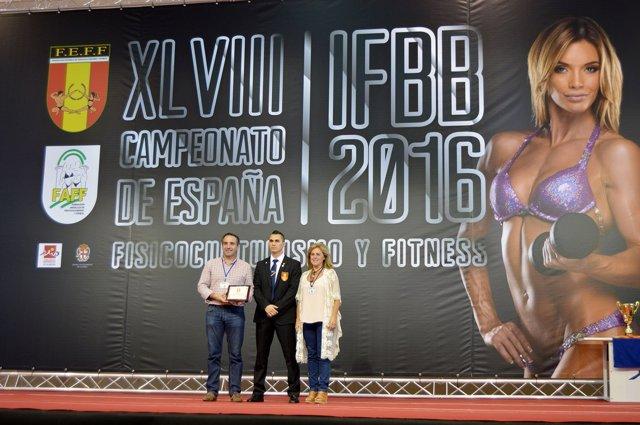 Campeonato de culturismo en Almería