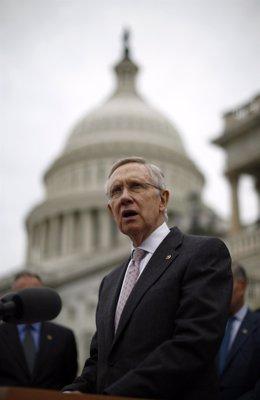 Líder de la mayoría del Senado de #EEUU, el demócrata Harry Reid