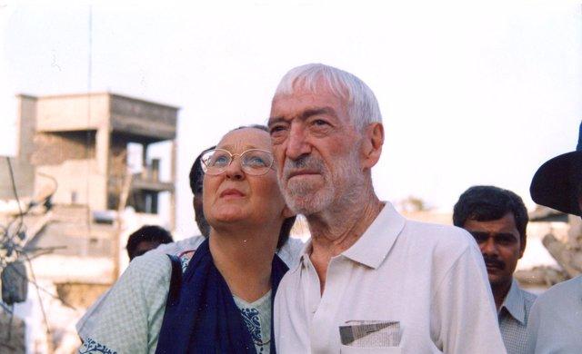 Anna Ferrer y Vicente Ferrer