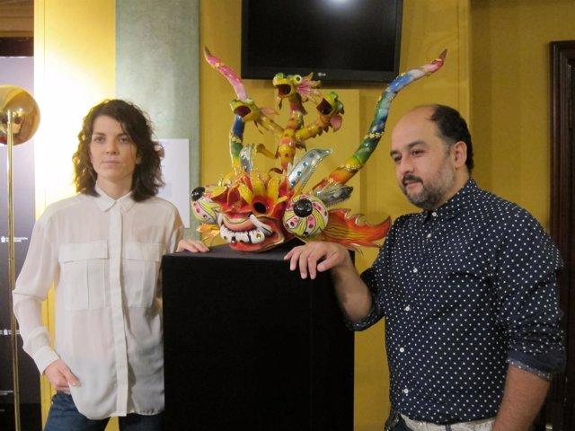 Laida Azkona y Txalo Toloza-Fernández
