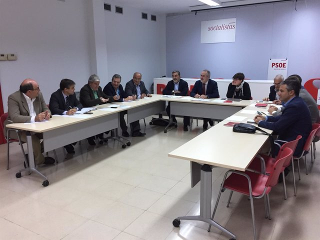 Imagen del encuentro con las organizaciones agrarias