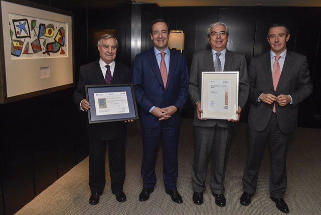 CaixaBank recibe el Sello de Excelencia Europea EFQM 500+