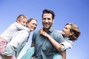Enseña a sonreír a tus hijos