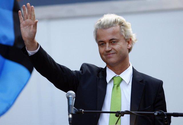 El Político Holandés Geert Wilders