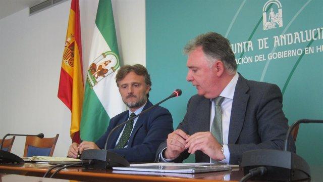 El consejero de Medio Ambiente de la Junta de Andalucía, José Fiscal.