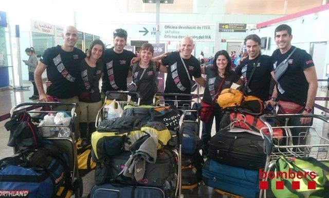 La expedición humanitaria 'Dels Pirineus a l'Himalàia-Nepal 2016'
