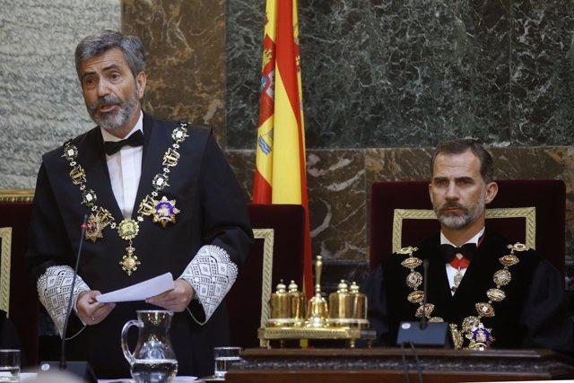 El presidente del Tribunal Supremo y del Consejo General del Poder Judicial