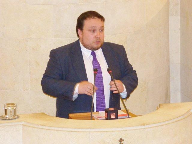 Rubén Gómez, diputado de C's Cantabria