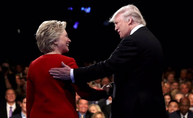 Debate entre Donald Trump y Hillary Clinton