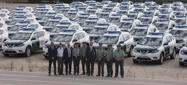 La Guardia Civil adquiere 838 vehículos nuevos en 2016