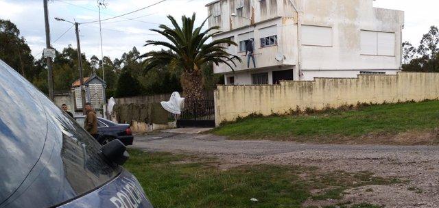 Casa fiesta ilegal en Arteixo
