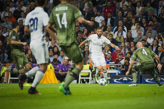 Karim Benzema (Real Madrid- Legia Varsovia)