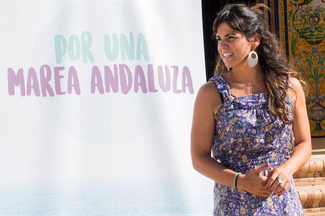 Teresa Rodríguez lanza su candidatura para seguir como líder andaluza de Podemos