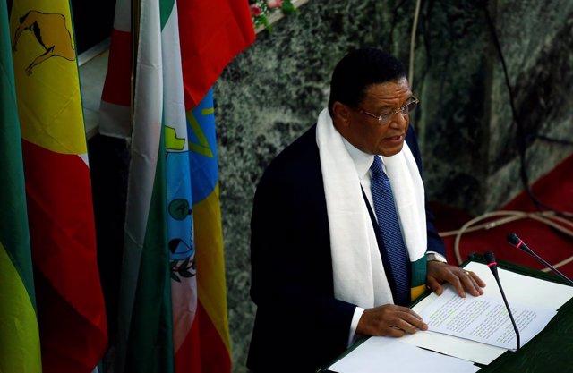 El primer ministro de Etiopía, Hailemariam Desalegn